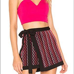EUC- NBD Benton Wrap Skirt in Blush